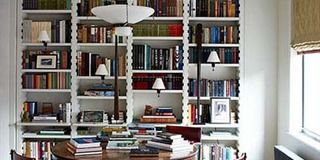I resolve to treat my bookshelves like a living piece of art
