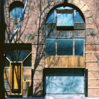 Facade, Wall, Colorfulness, Glass, Fixture, Rectangle, Arch, Aqua, Majorelle blue, Material property,