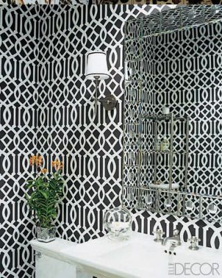 Powder Rooms with Pizzazz