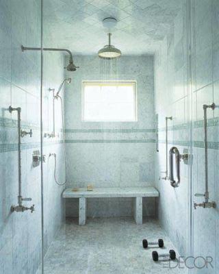 bathroom remodeling - irresistible open showers