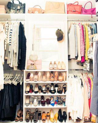 Room, Retail, Clothes hanger, Shelving, Collection, Fashion, Closet, Shelf, Shoe organizer, Shoe store,