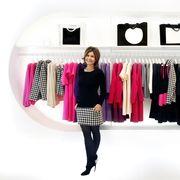 Product, Textile, Style, Magenta, Clothes hanger, Fashion, Black, Fashion design, Street fashion, Outlet store,