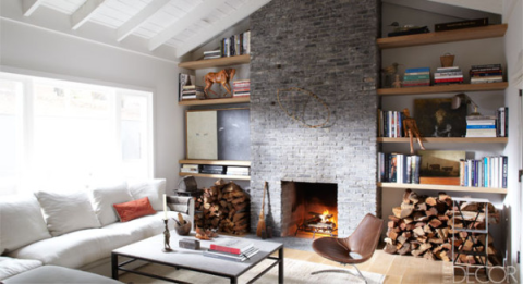Wood, Room, Brown, Interior design, Property, Wall, Living room, Home, Hearth, Floor,