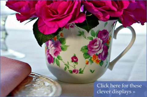 Crafts Creating Tea Cup Vases