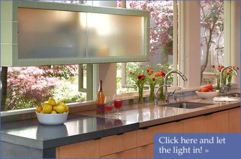 Indoor-Outdoor Kitchen Design