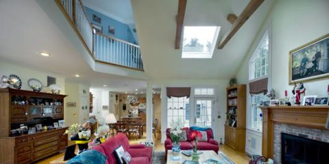 Room, Wood, Interior design, Property, Home, Living room, Floor, Furniture, Ceiling, Interior design,