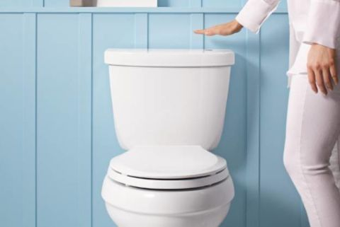 Automatic Toilet Touchless Bathroom Technology