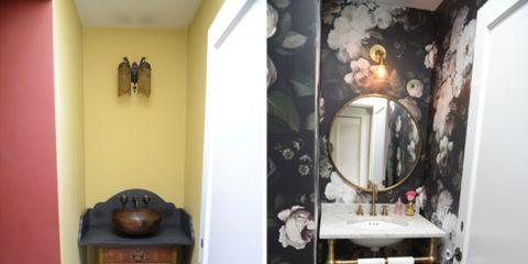 Wood, Room, Interior design, Hardwood, Mirror, Wood stain, Handle, Molding, Wood flooring, Plaster,