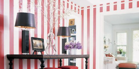 Striped Wall Ideas Pictures of Striped Walls