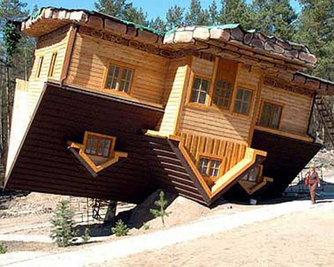 Upside-Down House (Syzmbark, Poland)