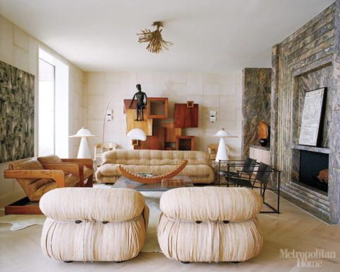 Home Decorating: Kelly Wearstler's Ultra-glam Beach House