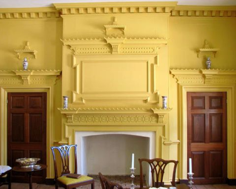 Photos of Historical Homes – Historical Paint Colors