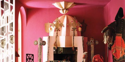 HOUSE TOUR: A Fashion Designer Living Colorfully In Morocco