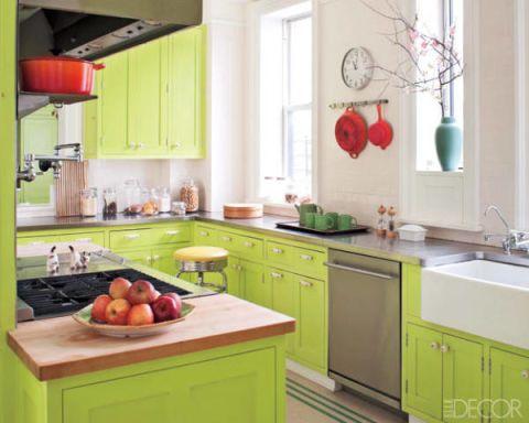 Room, Green, Plumbing fixture, Interior design, Kitchen, Kitchen sink, Cabinetry, Sink, Light fixture, Home,