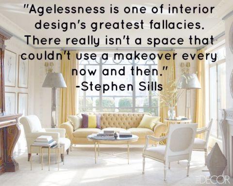 Design Quotes - Interior Design\'s Greatest Fallacy