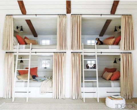Miguel Flores-Vianna. Curtain-Covered Bunk Bed & 11 Cool Bunk Beds - Unique Design Ideas for Stylish Bunk Beds