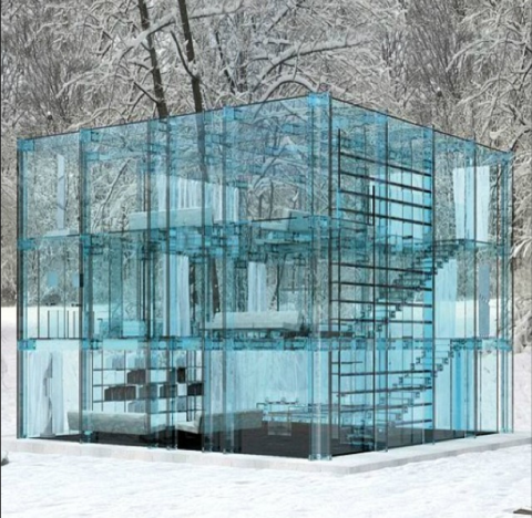 Glass, Architecture, Teal, Transparent material, Composite material, Transparency,