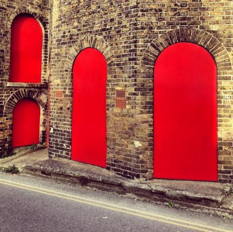 Brick, Architecture, Red, Wall, Arch, Colorfulness, Brickwork, Fixture, Asphalt, Carmine,
