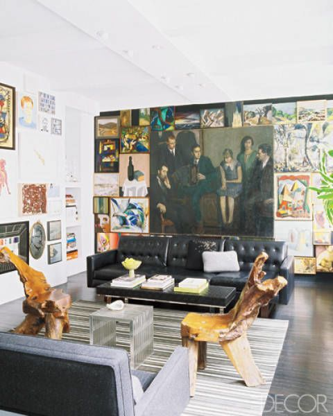 Unique Small Apartment Decor: One-Of-A-Kind Wall Design