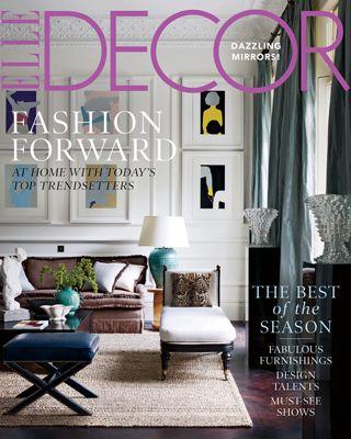 elle decor october 2011 - Elle Decor Magazine