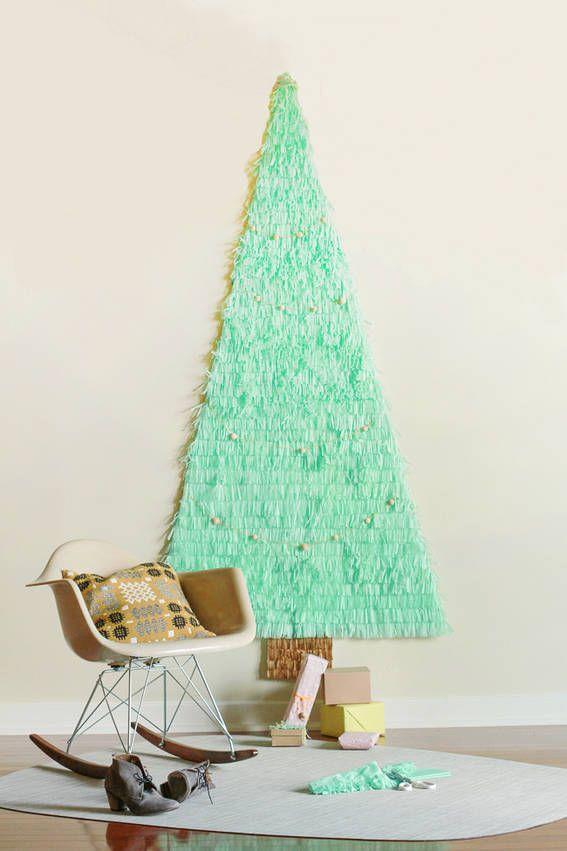 17 christmas tree alternatives best alternative ideas to for Elle decor christmas tree