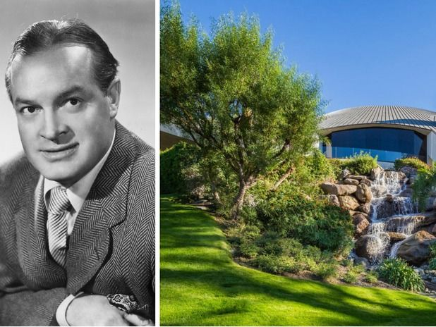 Bob Hope's Palm Springs Home Reduced by Half
