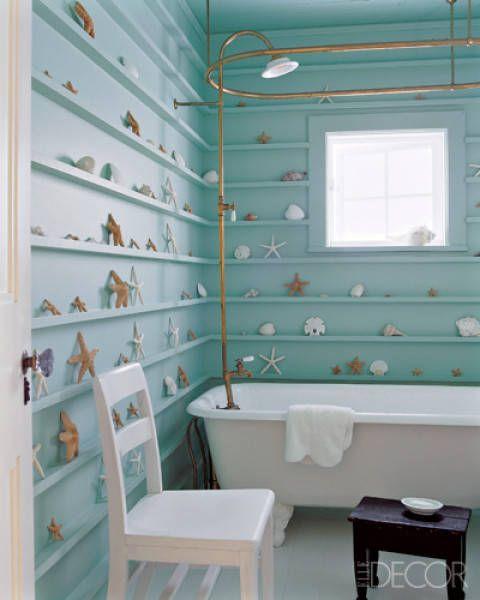 Best Bathroom Colors - Ideas for Bathroom Color Schemes - Elle Decor