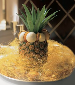 Pineapple-and-Passion-Fruit Givré Recipe