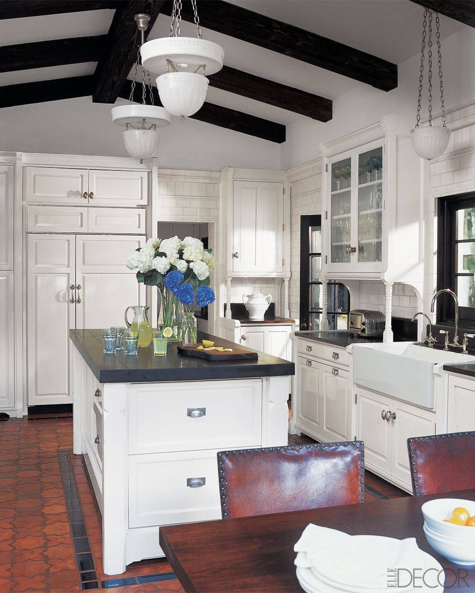 Black Kitchen Decorating Ideas: Kitchen Islands With Seating