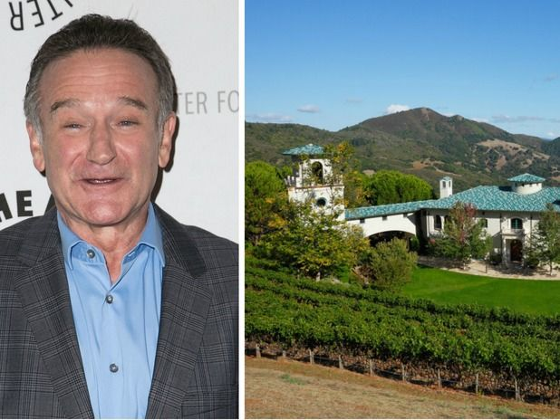 Robin Williams' Napa Valley Estate Is Back on the Market