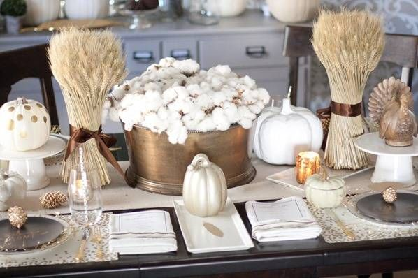 20 thanksgiving table decor ideas - thanksgiving table settings