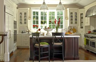 Kitchen Remodeling Ideas: Contemporary Country Kitchen