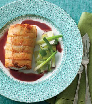 Sea Bass Paupiette Recipe