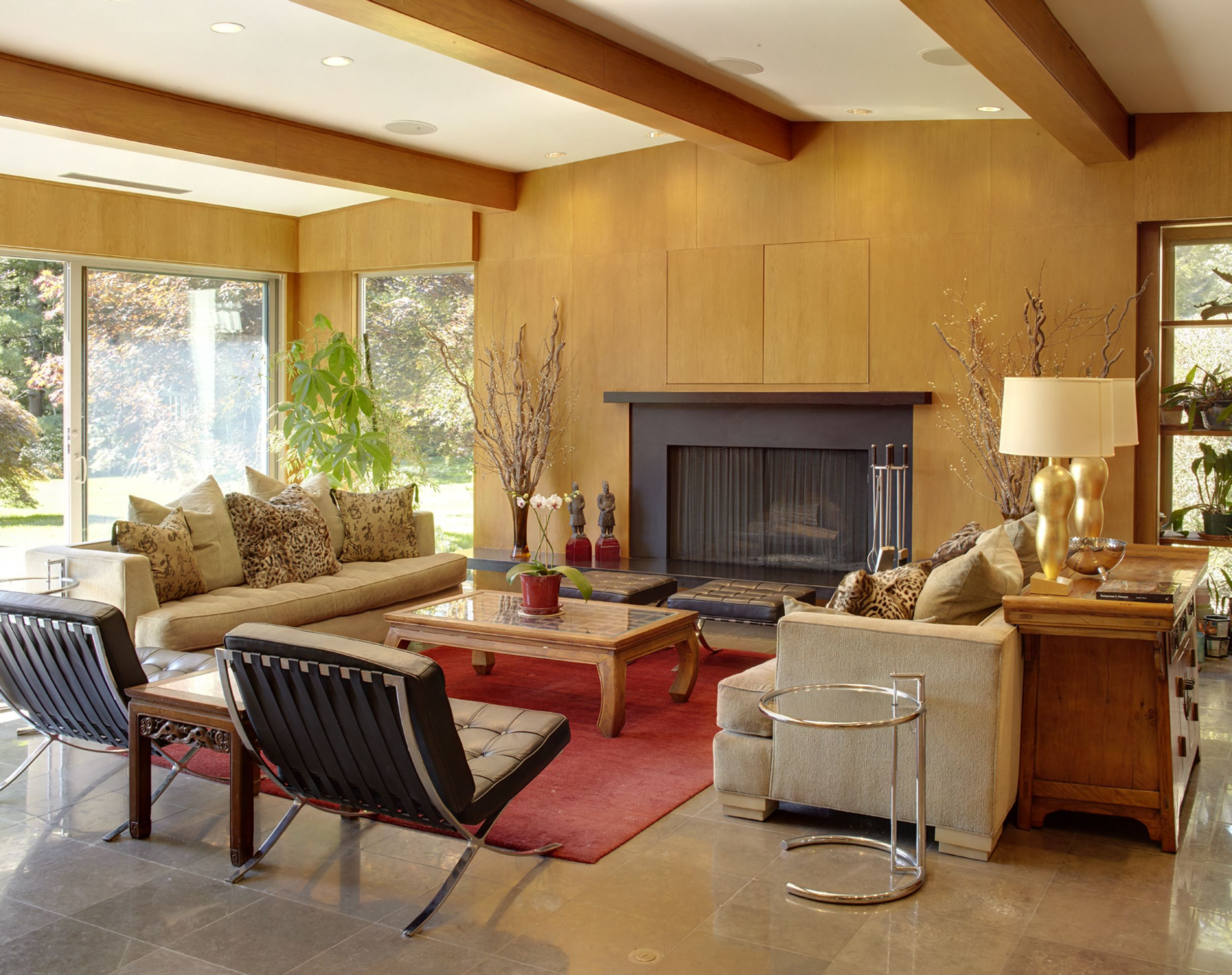 10 MidCentury Modern Living Rooms  Best Midcentury Decor