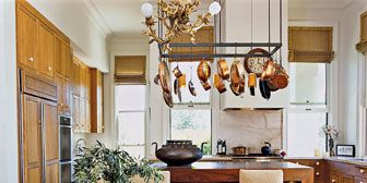 Pot Racks- Stylish Pot Racks for Kitchens