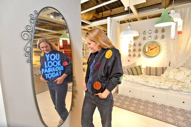 IKEA's Newest Mirror Will Give You Compliments