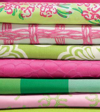 Lilly Pulitzers New Lee Jofa Fabrics