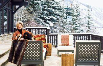 [Decor] The chic ski resort of CHARLOTTE MOSS