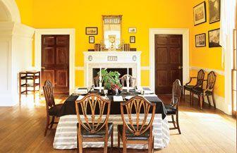 Monticello Dining Room Classy Monticello Varestoring Historic Homes Design Inspiration