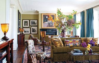 Miles Redd Interiors Design And Gil Schafer Architect For