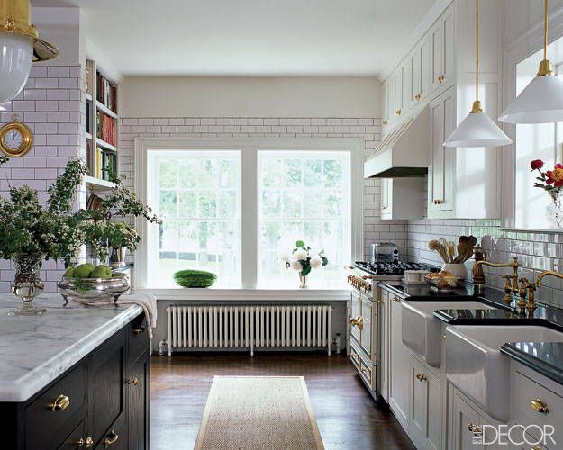 30 best white kitchens design ideas pictures of white kitchen decor elledecorcom - White Kitchens