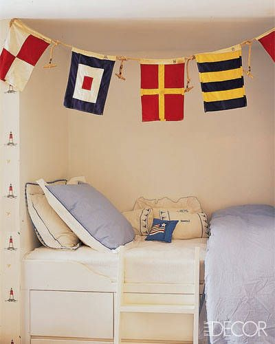 20 Nautical Home Decor Ideas - Stylish Nautical Design Rooms