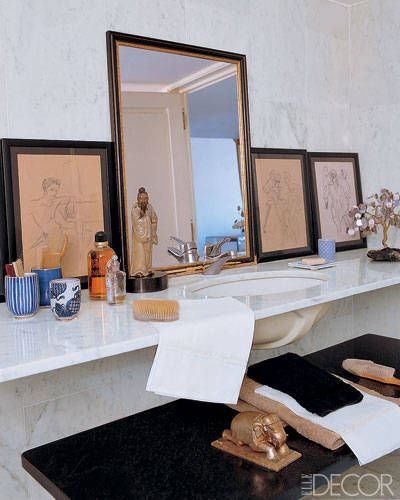 Designer Bathroom Vanities: Giambattista Valliu0027s Elegant Bathroom