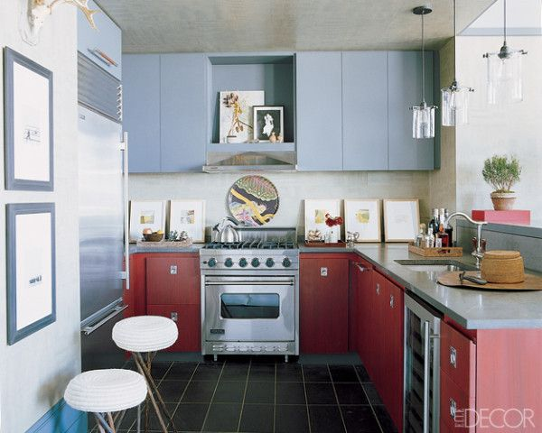 Marvelous Blue Kitchens