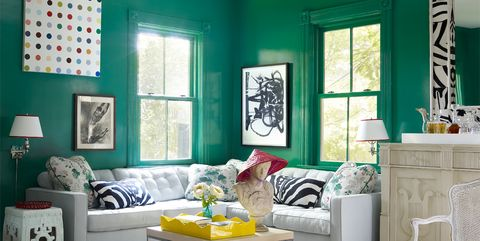 32 Green Room Ideas - How to Decorate with Green Wall Paint & Decor