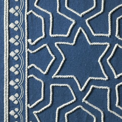 Pattern, Electric blue, Visual arts, Design, Symmetry, Motif, Pattern, Rug, Creative arts,