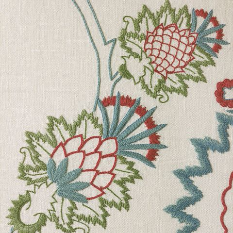 Textile, Pattern, Embroidery, Botany, Art, Creative arts, Needlework, Teal, Craft, Stitch,