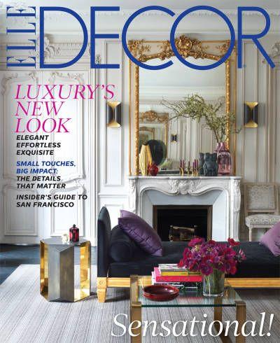 november 2013 elle decor cover - Elle Decor Magazine