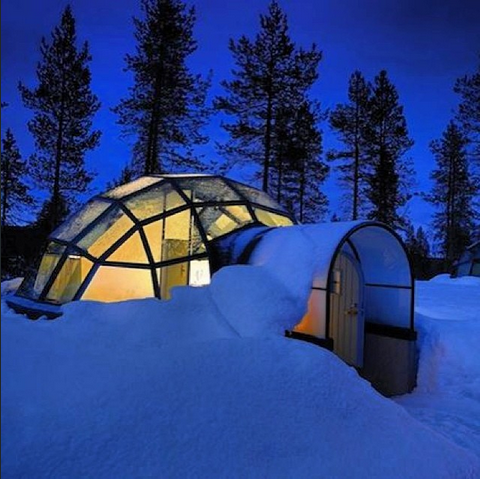 Modern Home Design Igloo Style House