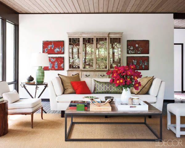 Living Room Design Ideas White Sofa - Sofas & Armchairs